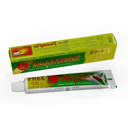 Отбеливающая зубная паста с Мисваком Miswak