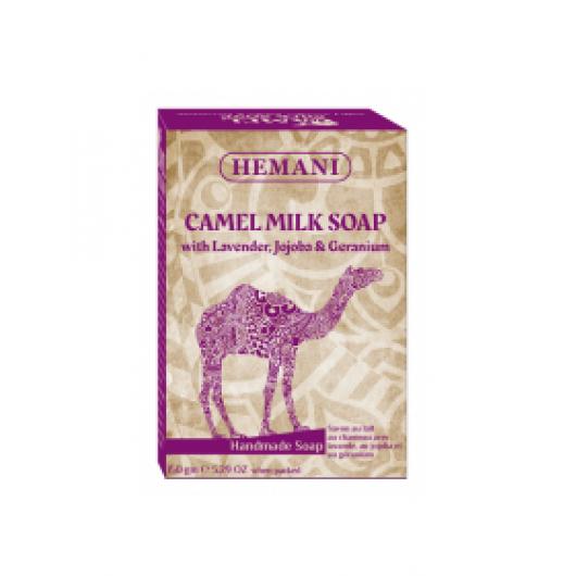 Мыло Верблюжье молоко, лаванда, жожоба и герань